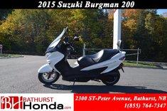2014 Suzuki Burgman 200