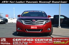 2015 Toyota Venza Limited - AWD