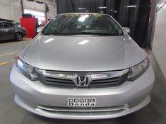 Honda Civic LX AUTOMATIQUE 2012