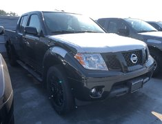 2018 Nissan Frontier Crew Cab SV Midnight Edition 4x4 at