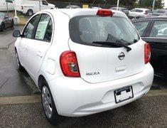 2017 Nissan Micra 1.6 SV at