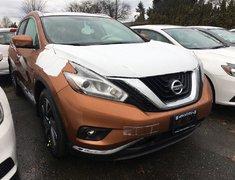2018 Nissan Murano Platinum AWD CVT