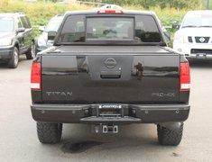 2011 Nissan Titan PRO-4X LEATHER BOX COVER