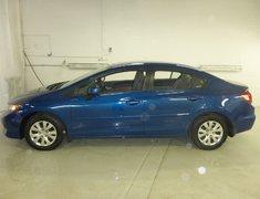 Honda Civic LX AUTO GROUPE ELECTRIQUE GARANTIE 10ANS/200000KM 2012