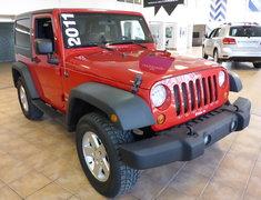 Jeep Wrangler SPORT 4X4 V6 2011