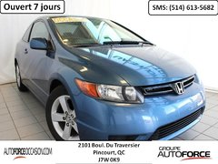 Honda Civic LX COUPE 5 VIT AC BAS KM MAGS TOUTE EQUIPE 2008