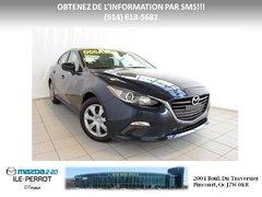Mazda Mazda3 GX-SKY AUTOMATIQUE *BAS KILO* 2014