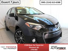 Toyota Corolla S UPGRADE, A/C, TOIT OUVR, MAGS, BLUETOOTH+++ 2014