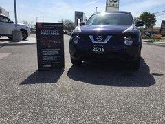 2016 Nissan Juke SV FWD CVT