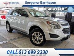 2017 Chevrolet Equinox LS  - Bluetooth -  OnStar - $138.32 B/W