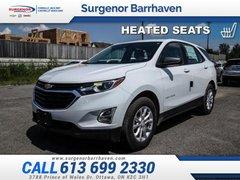 2019 Chevrolet Equinox LS  - Bluetooth -  Heated Seats - $172.66 B/W