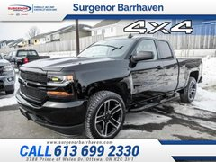 2018 Chevrolet Silverado 1500 Custom  - Black Package - $304.46 B/W
