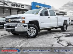 2015 Chevrolet Silverado 3500HD Crew 4x2 WT / SRW  - $233.11 B/W