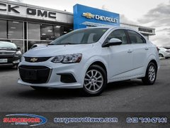 2018 Chevrolet Sonic LT  - Bluetooth - $96.24 B/W