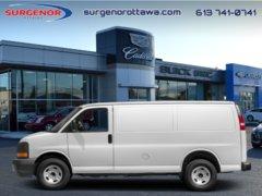 2018 GMC Savana Cargo Van WT  -  Power Doors -  Power Windows - $260.12 B/W