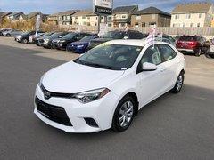 2016 Toyota Corolla LE  - Bluetooth -  Power Windows - $97.28 B/W