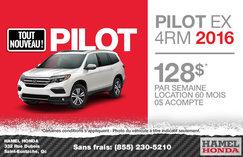 Honda Pilot LX 4RM 2016 en location à partir de 128$/semaine