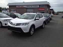 Toyota RAV4 Certifié AWD Limited gps cuir toit ouvrant  2013