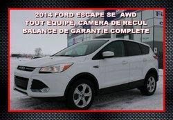 2012 Ford Escape SE, AWD, CECI EST UN 2014
