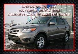 2012 Hyundai Santa Fe GL, AUTOMATIQUE 2.4 L TRACTION AVANT