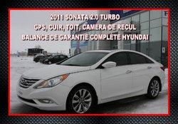 2011 Hyundai Sonata LTD 2.0T **BAS KILOMÉTRAGE**