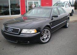 Audi A8 2003 4.2 QUATTRO, NOIR TOIT OUVRANT,JANTE EN ALLIAGE 18'',A/C, RÉGULATEUR DE VITESSE