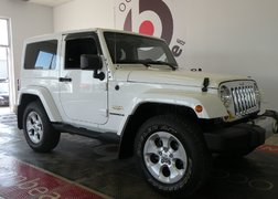 Jeep Wrangler SAHARA 2 TOIT AUTOMATIQUE 2013 COMME NEUF/ BAS KILOMETRAGE