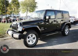 Jeep Wrangler * SAHARA, 4X4, TOIT TARGA * 2014 COMME NEUF!!