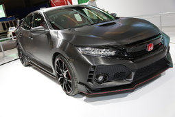 Come See the Honda Civic Type R Prototype at the Montreal Auto Show - 36