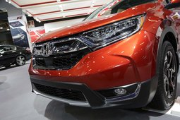 The 2017 Honda CR-V showcased at the Montreal Auto Show - 33