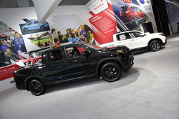 The new 2017 Honda Ridgeline is at the Montreal Auto Show - 3
