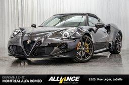 2016 Alfa Romeo 4C SPIDER I DECAPOTABLE I CARBON FIBER