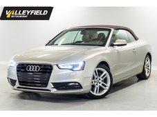 Audi A5 2.0T Premium Convertible, valeur de 60 000$ 2013