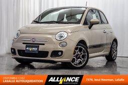 2012 Fiat 500 SPORT | TOIT | BLUETOOTH | 1.4L |