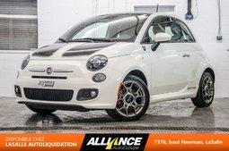 Fiat 500 SPORT   SIEGES CHAUFFANTS   TOIT   CUIR   1.4L   2013