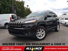 2016 Jeep Cherokee NORTH 89$/SEM,10697 KM CAMERA DE RECUL,IMPECCABLE