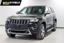 Jeep Grand Cherokee Overland AWD cuir, toit ouvrant! 2014