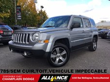 2017 Jeep Patriot High Altitude Edition 78$/SEM CUIR,TOIT,IMPECCABLE