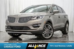 Lincoln MKC RESERVE AWD| CAMERA | GPS | SIEGES CHAUFF & A/C | 2016