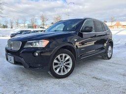 BMW X3 2013 35I+AWD+GARANTIE PROLONGÉE COMPLETE+MOINS CHER QC! SOYEZ DIFFÉRENT! SOYEZ SHERBROOKE INFINITI!