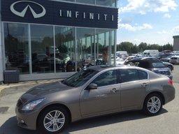 Infiniti G37 Sedan 2013 PREMIUM ,AWD,A PARTIR 0.9% Soyez Différent! Soyez Sherbrooke Infiniti