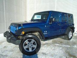 2009 Jeep Wrangler Unlimited AUTOMATIQUE 4X4 BAS MILAGE 2 TOITS ET 2 SET MAGS