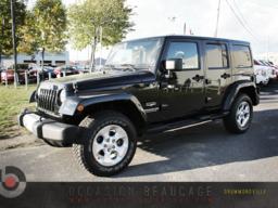 Jeep Wrangler * SAHARA, 4X4, NEUF - NEUF - NEUF 2014 COMME NEUF!!