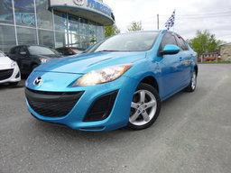 Mazda Mazda3 2011 GX, Air, Mag, Manuelle, Bas kilométrage GX, Air, Mag, Manuelle