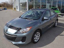 Mazda Mazda3 AC*0.9%*BAS KILO*FREINS NEUFS 2012