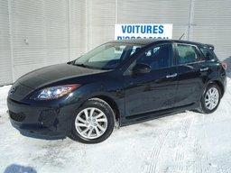 Mazda Mazda3 2012 SKACTIV BAS MILAGE GARANTIE MAZDA CANADA TOIT OUVRANT