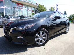 Mazda 3 2014 GX, AUTOMATIQUE, AIR CLIMATISÉ 22000KM SEULEMENT 22 000KM