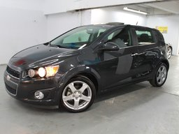 Chevrolet Sonic LT - GROUPE HABILLAGE 2014 ROUE 17'' - TOIT OUVRANT - CAMERA RECUL