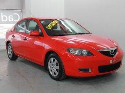 Mazda Mazda3 AUTOMATIQUE -- 8 PNEUS 2007 CONTROLE AUDIO AU VOLANT