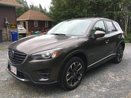 2016 Mazda CX-5 GT w/Tech AWD One Owner..Just Off Lease..AWD..Heated Leather..Active Safety Systems..GPS Navigation..Sat Radio!!